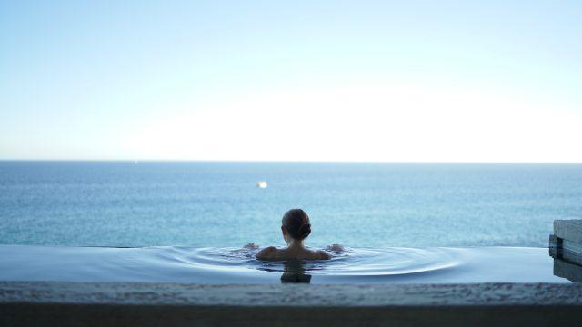 温泉,プール